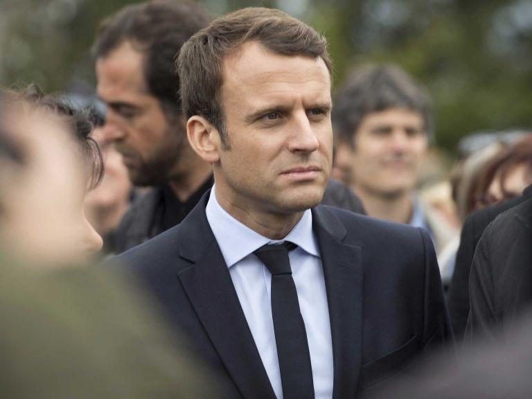 El candidato socioliberal a la Presidencia francesa, Emmanuel Macron.