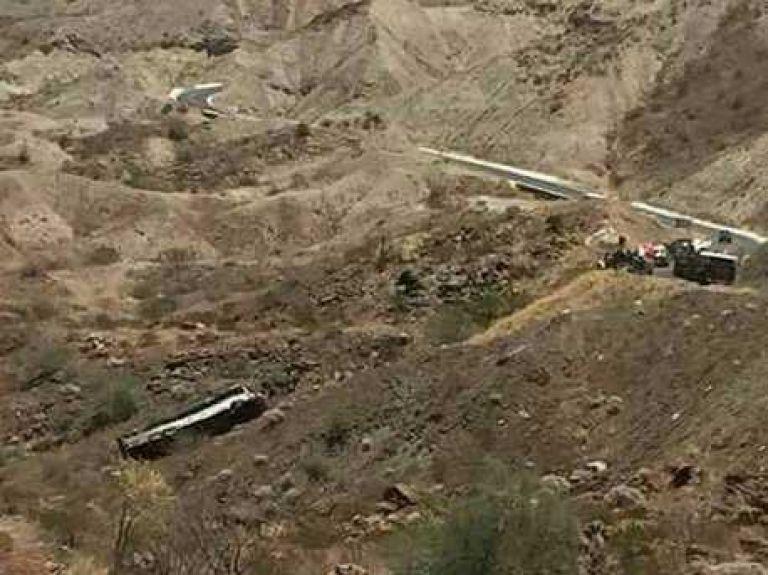 Accidente carretero en Santa Rosalía, deja una persona muerta