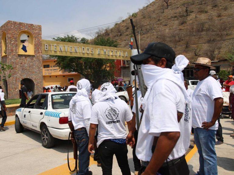 Crean grupo de autodefensa en la zona minera del sur de México