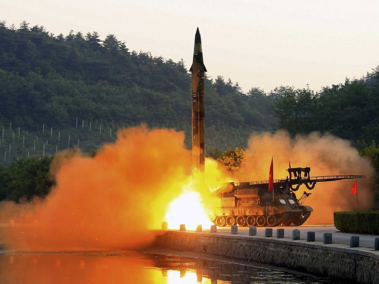 "Pyongyang acusó a Washington de querer ""desatar una guerra nuclear"""