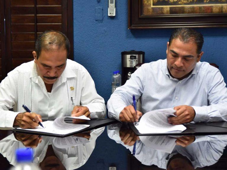 Firma CANACINTRA convenio con el ayuntamiento de Los Cabos.