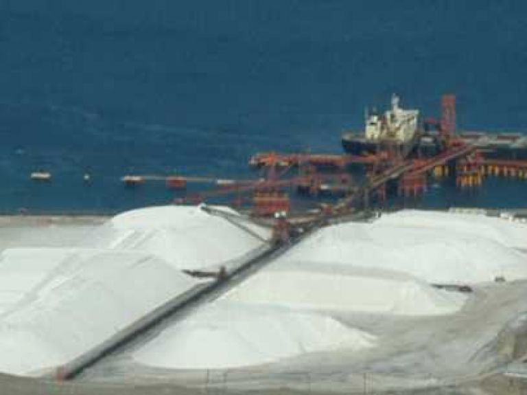 Xavier Lazcano podría llevar a la quiebra a la exportadora de sal