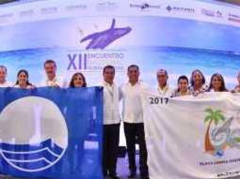 Certifican en Los Cabos 4 playas mas con banderas Blue Flag