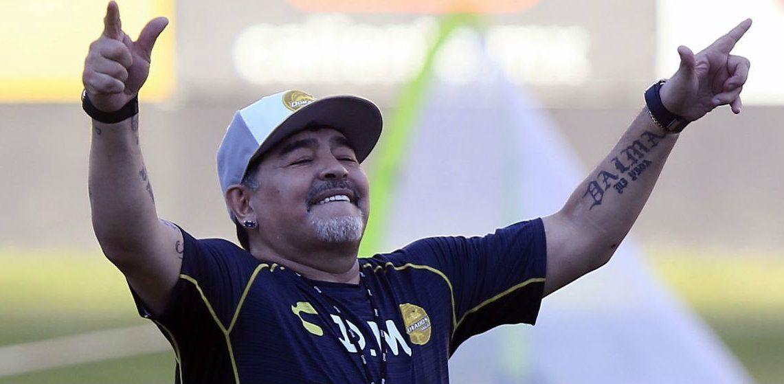MaradonaregresaaMéxicoparahacersecargodelosDorados