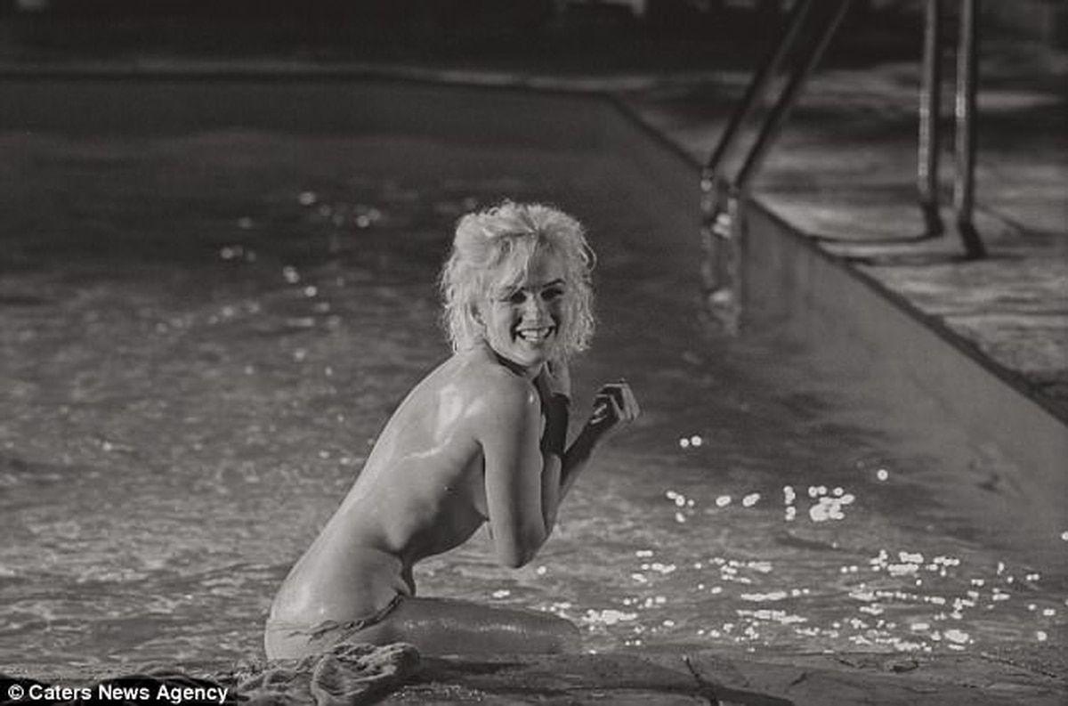 Se Descubren Imágenes De Un Desnudo De Marilyn Monroe En Bajapress