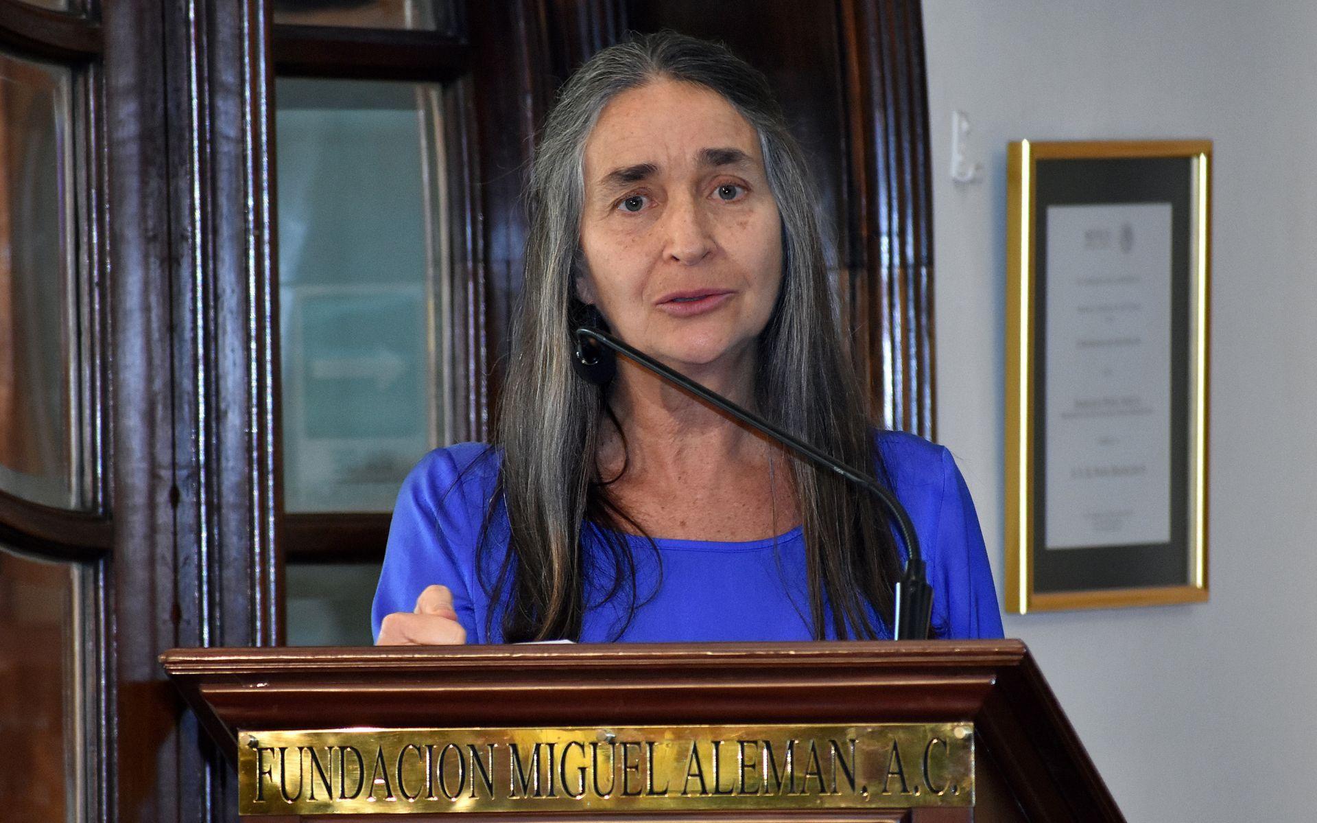 Conservacionista Julia Carabias