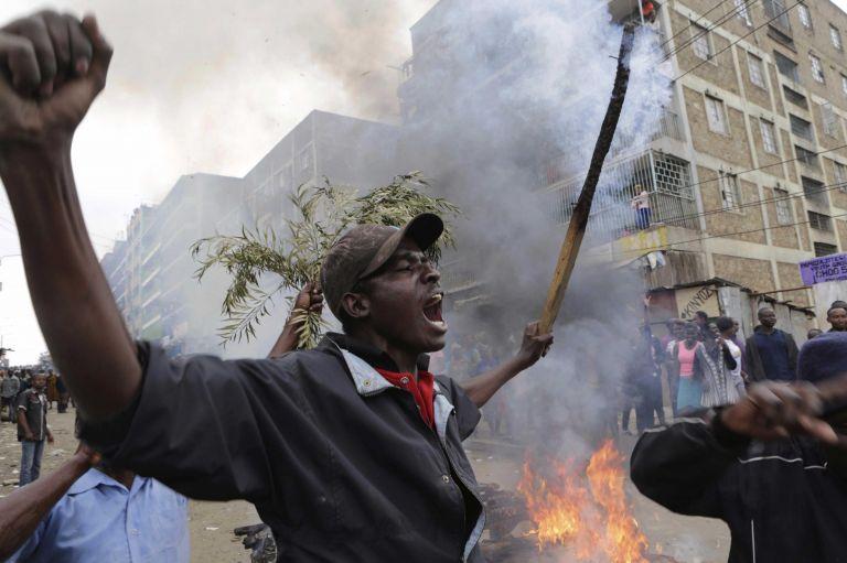 Nairobi (Kenia) Protestas por elecciones