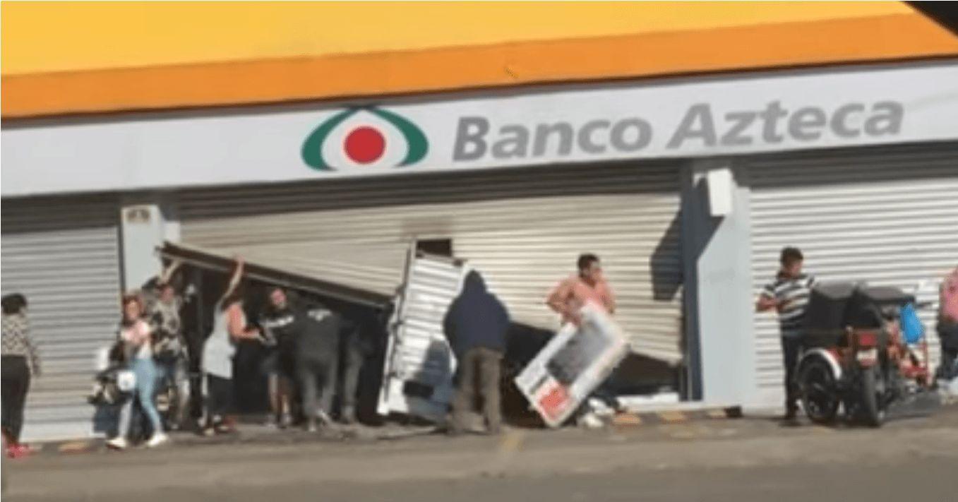 Detienen a más de 80 personas por saquear tiendas del Estado de México