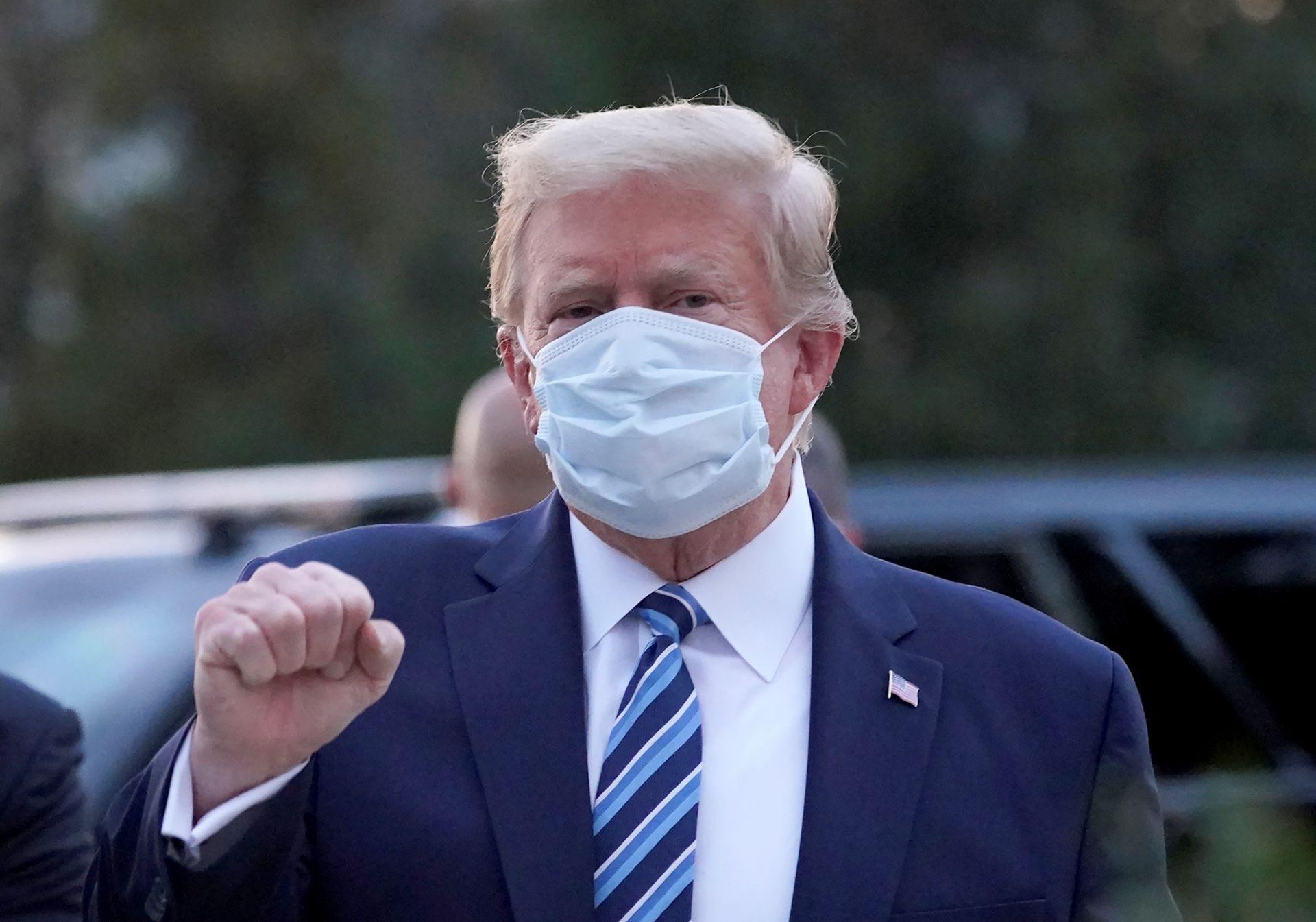 Trump-Cubrebocas