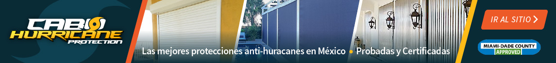 Cabo Hurricane Protection Ad