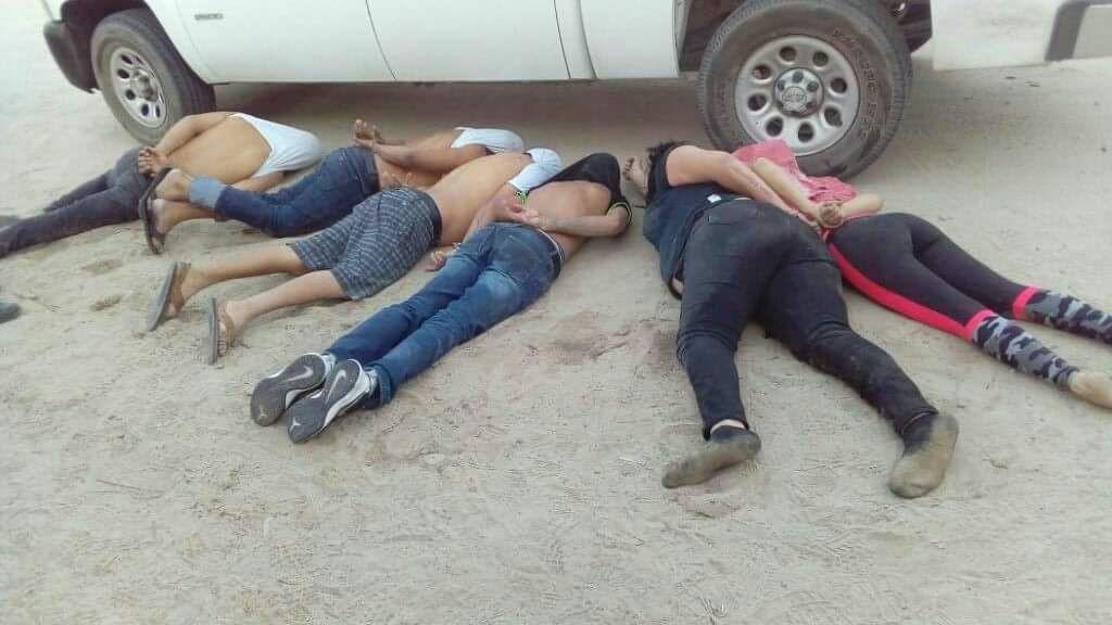 detenidos en La Paz