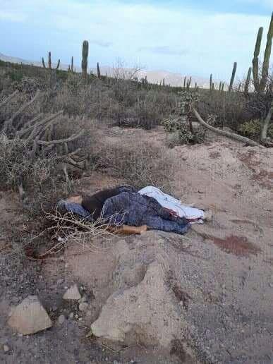 muertos en La Paz y los cabos