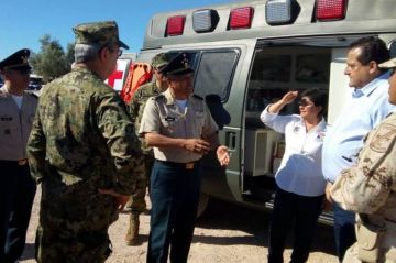 Inauguran instalaciones del puesto militar de seguridad estratégico en San