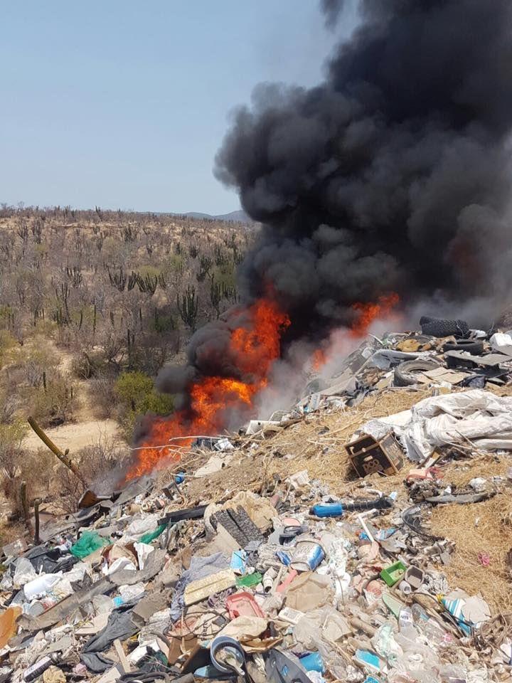 incendios en invasiones de cabo san lucas