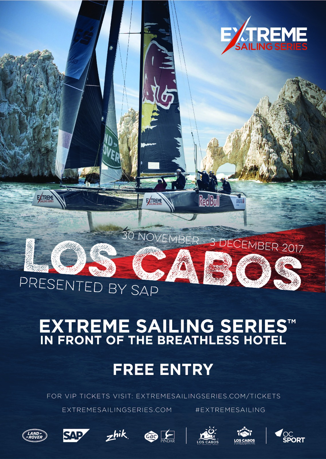 extreme sailing series los cabos