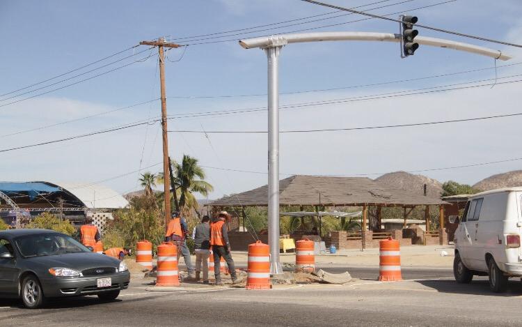semáforos en los cabos