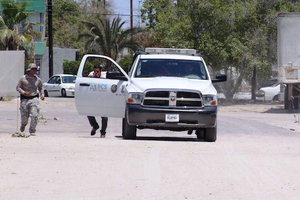 arrestan a hombres armados y con drogas en La Paz
