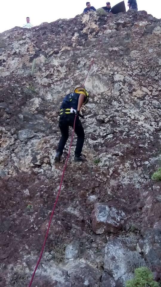 turista cae por acantilado en Baja California sur