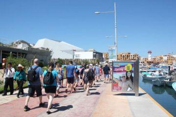 Crece en Los Cabos el arribo de turistas vía cruceros