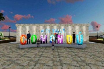 Rehabilitan plaza Ignacio Zaragoza en Comondú