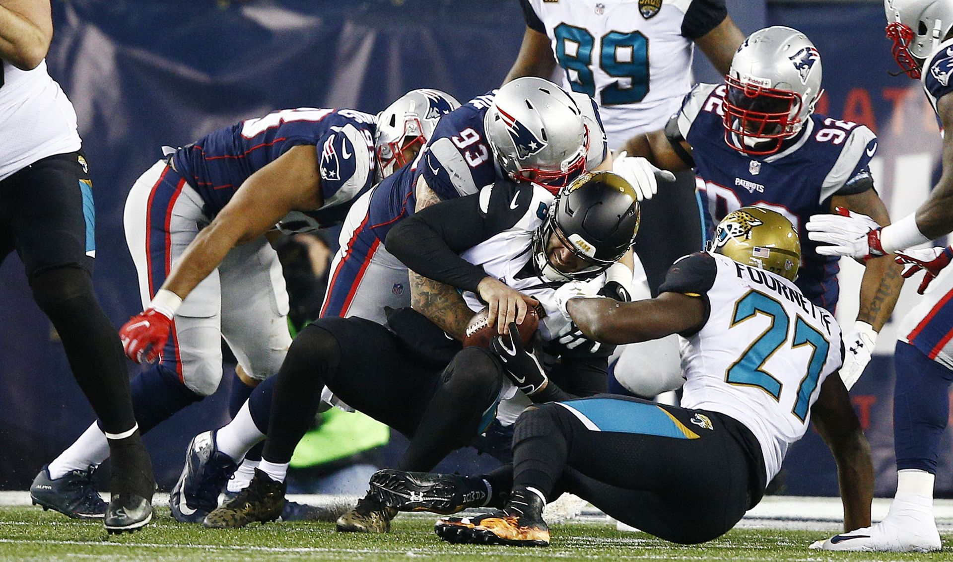 Jacksonville Jaguars at New England Patriots