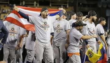 Los Astros ganan Serie Mundial con Springer y la conexión latina