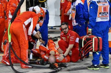 Ferrari informa que su mecánico herido fué operado con éxito