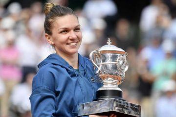 Halep gana Roland Garros, su primer GS, al derrotar a Stephens