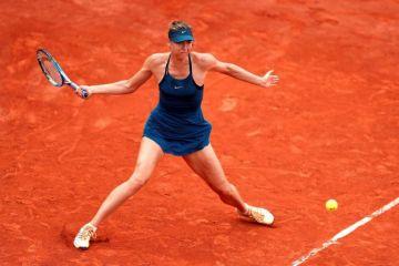 Sharapova, Nadal y Muguruza avanzan a 3a ronda de Roland Garros