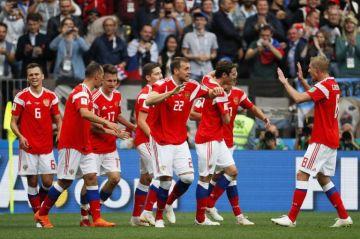5-0. Golovin y Cheryshev devuelven la ilusión a Rusia
