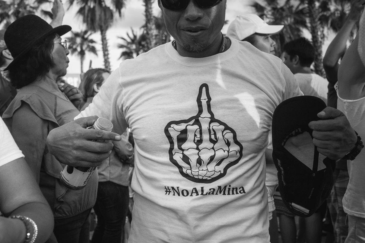 No a la Mina Baja California Sur, Los Cabos, Josafat de la Toba