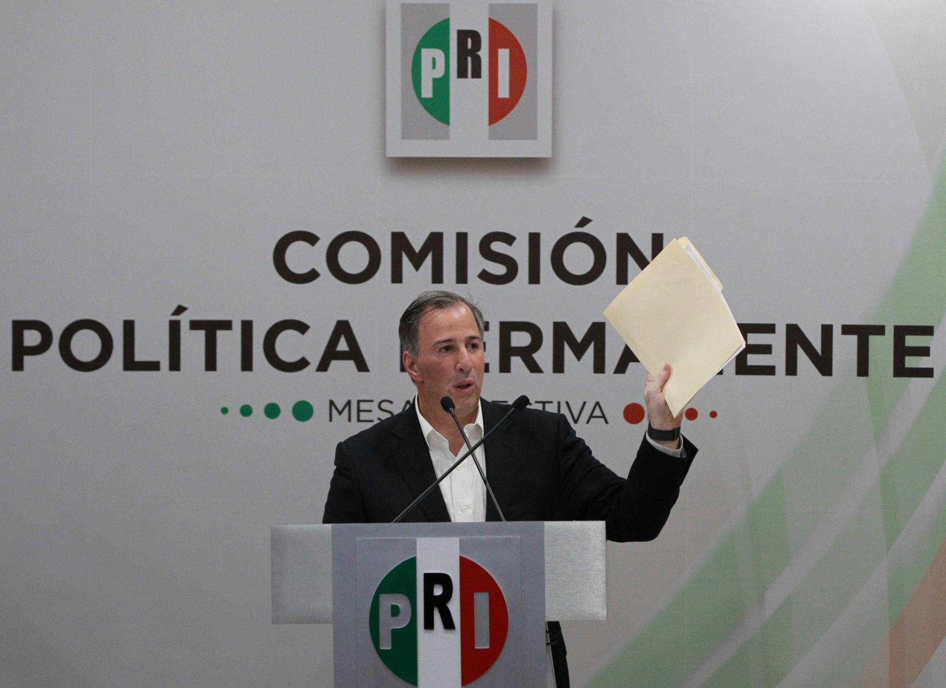 El PRI perfila en Meade candidato a Presidencia de México tras largos rumores