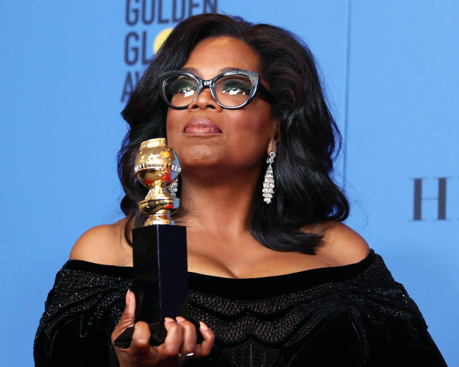 Oprah Windfrey, Golden Globes, Me too