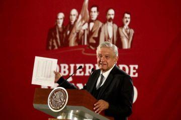 López Obrador descarta espionaje: «No hay golondrinas en el alambre»