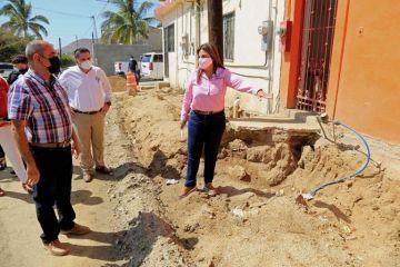 Avanzan los trabajos de pavimentación integral de 9 en importantes vialidades