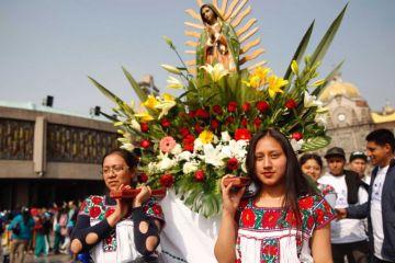 Más de 10 millones de peregrinos llegan a la Basílica de Guadalupe
