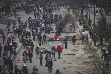 Los ocho civiles muertos en un operativo en Bolivia fallecieron por disparos