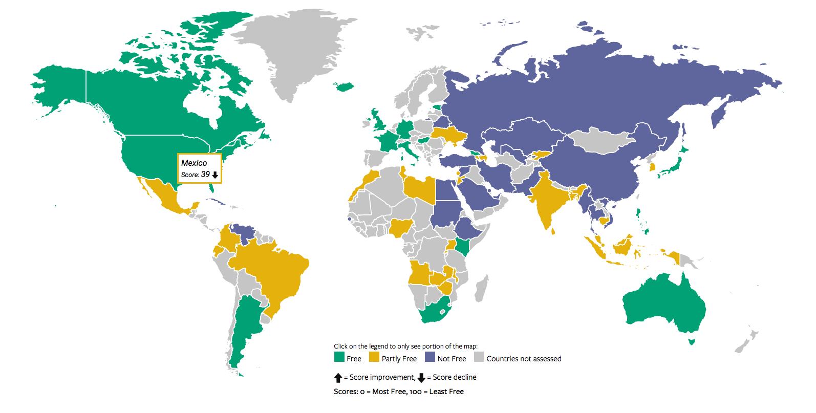 méxico libertad en internet manipulación de redes sociales por el gobierno