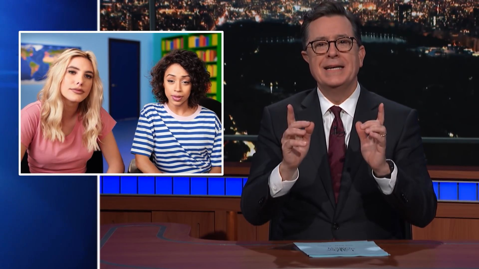 stephen Colbert youtube rewind