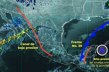 Clima: El Frente Frío Número 40 se aproximará hacia el noroeste de México