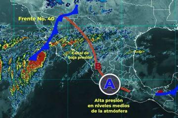 Clima: Persistirá la onda de calor en el occidente, centro y sur de la República Mexicana