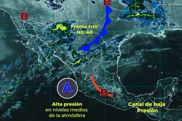 Clima: Se mantendrá la ola de calor, con ambiente caluroso en gran parte de México