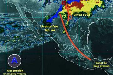Se pronostican rachas de viento de 90 a 110 km/h con tolvaneras en Chihuahua, Coahuila y Durango