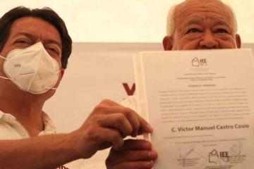 Víctor Castro se convierte en el gobernador electo de Baja California Sur