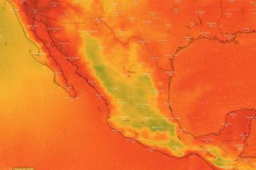 Debido a la Onda Tropical Número 13, se pronostican lluvias muy fuertes y posible granizo para Jalisco y Nayarit