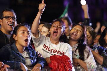 La izquierda mexicana arrasa en los estados y el PRI pierde poder local
