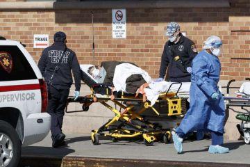 Estados Unidos suma 3,927 muertes por la covid-19 en un solo día