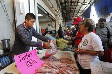 En México se ignoran en Cuaresma  los productos del mar de mejor calidad y