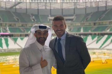 """Beckham: """" #Catar2022 será un sueño para jugadores y aficionados """""""