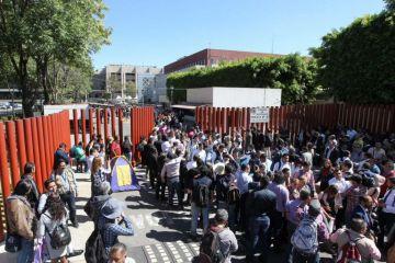 Diputados vuelven a suspender sesión por el bloqueo de maestros